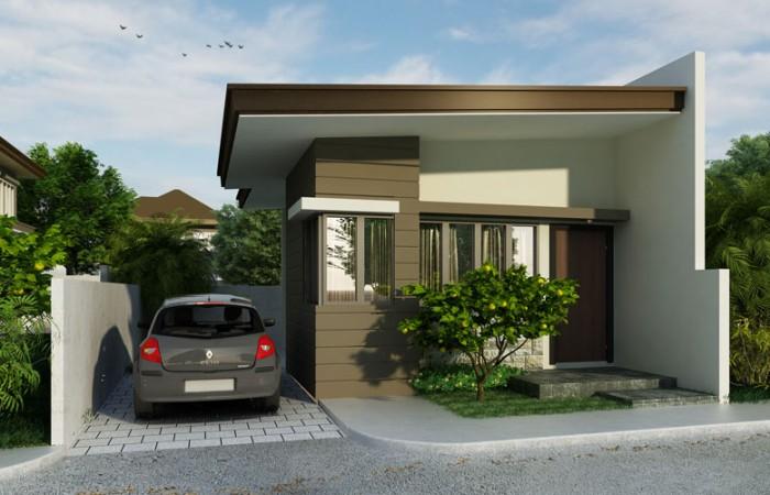 Rumah Sederhana Minimalis dengan Ukuran Lahan 7,5m x 9m