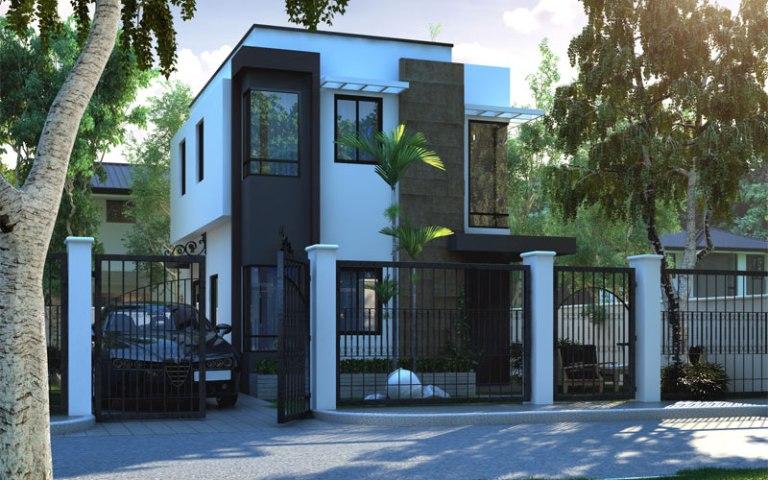 Rumah Sederhana Minimalis dengan Ukuran Lahan 6m x 7,5m