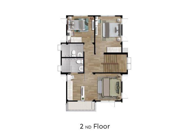 2-Storey Single Detached House 154 Sq.M