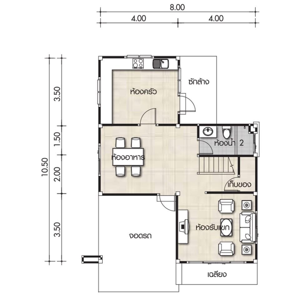 8x10 bathroom layout