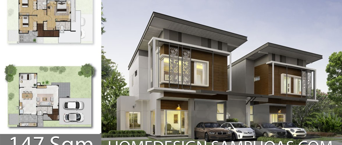 147 Sqm 3 Bedrooms Home design idea