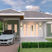 House Plans 10x10 with 3 Bedrooms
