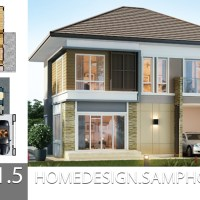 House Plans idea 12.5x11.5 with 3 bedrooms