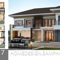House Plans idea 17.5x17 with 5 bedrooms