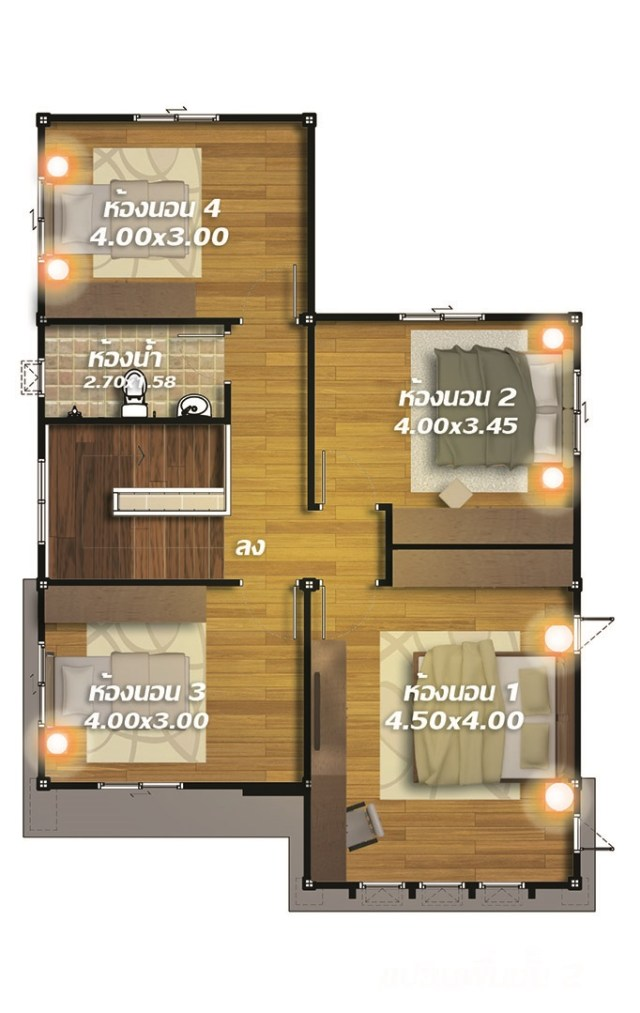 10 X 12 Bedroom Design: House Design Plans Design 8x12 With 4 Bedrooms