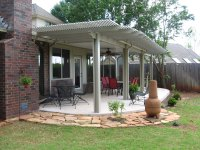 Amazing Backyard Pergola Design Ideas White Wooden Pergola ...