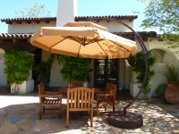 Amazing Outdoor Stand Alone Patio Umbrellas Curved Black