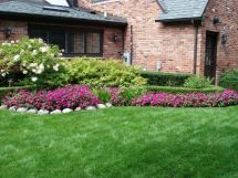 Beautiful Flower Bed Design Home Gardening Tips Spacious