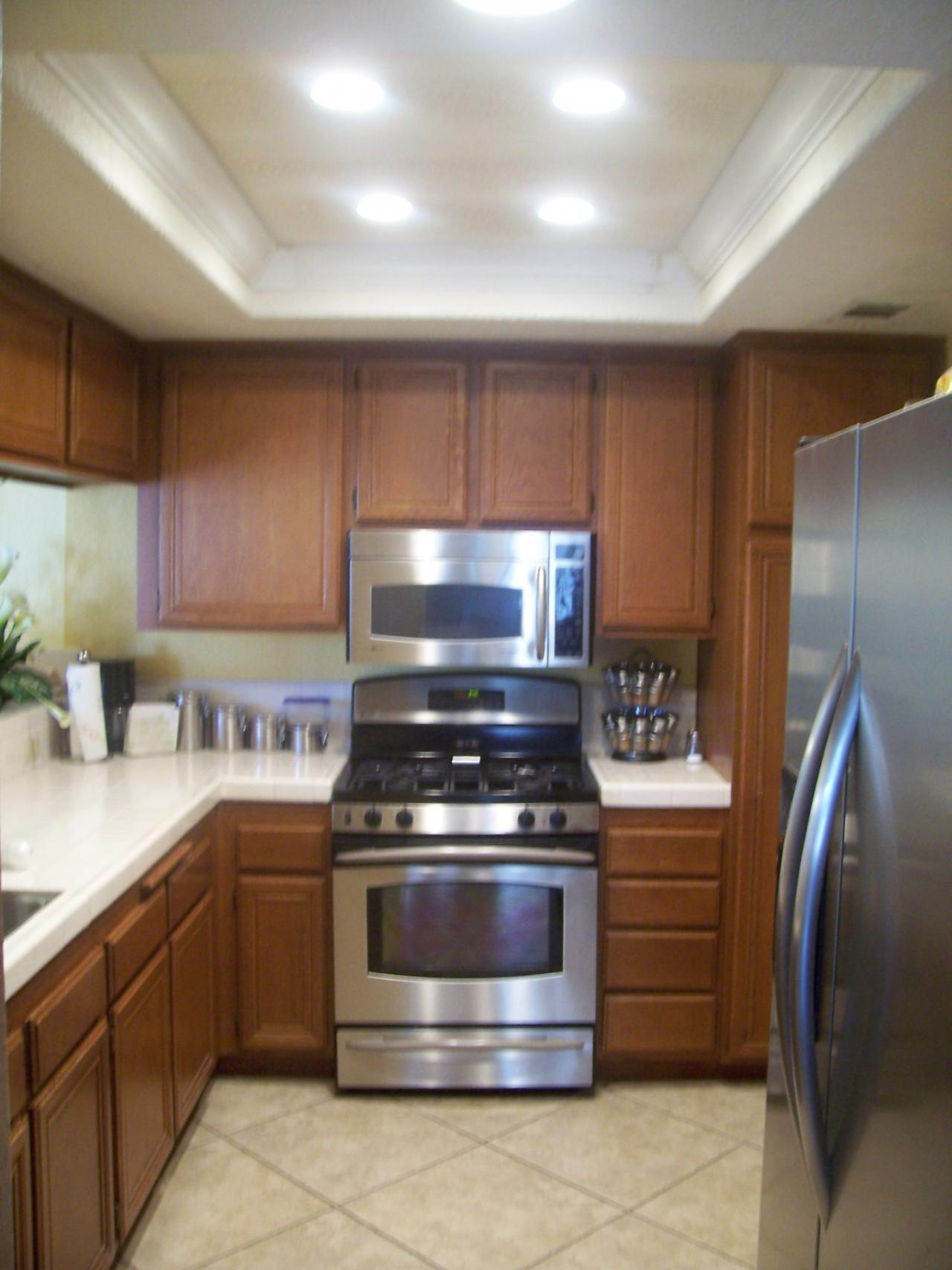 small kitchen lighting instant hot water systems interior can light recessed quality
