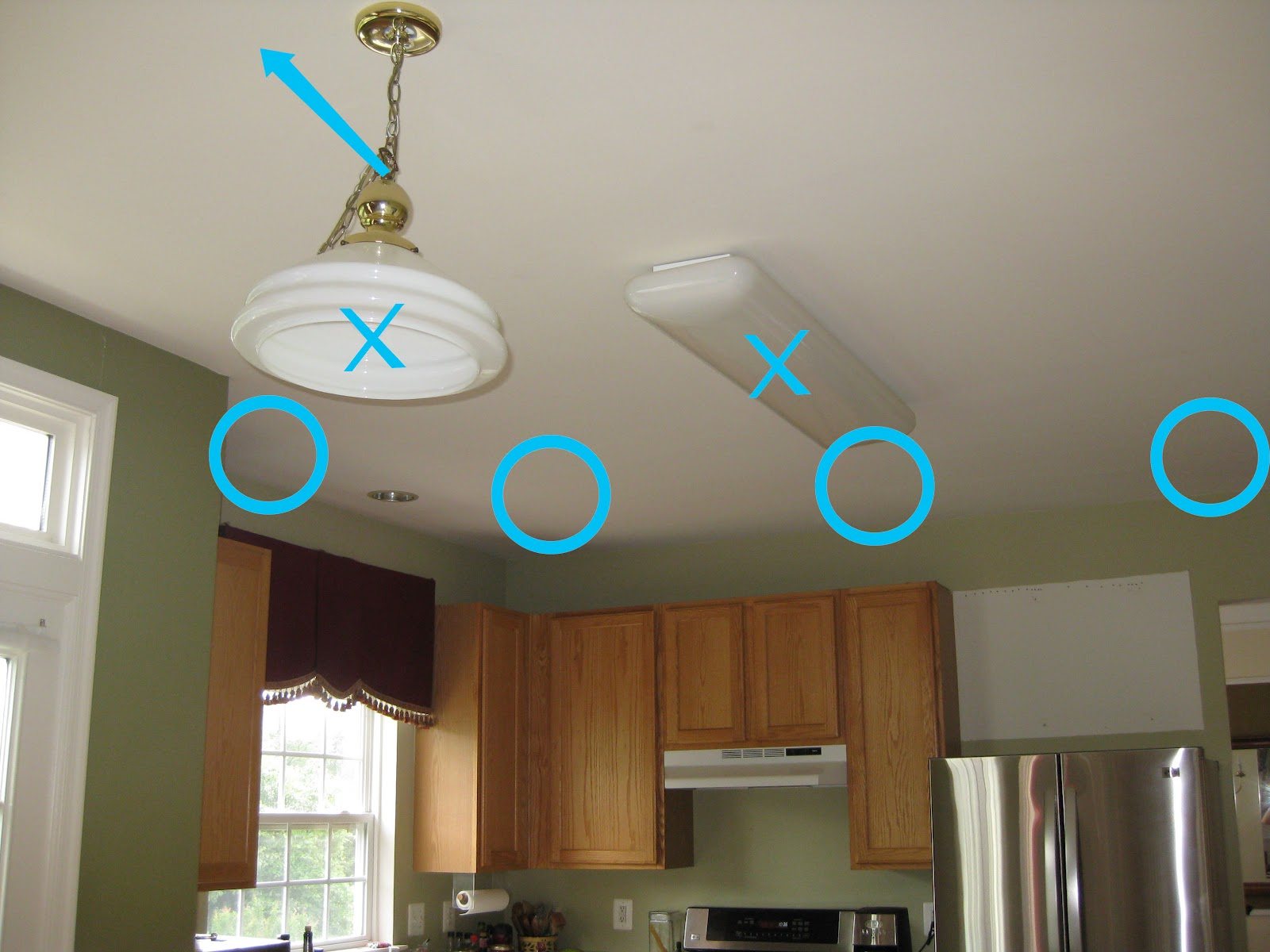 Interior Light Bulbs Installing Kitchen Ceiling Wac Lighting