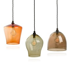 Lantern Pendant Lights For Kitchen Trash Bins Interior Seagull Lighting Hand Blown Glass Hanging
