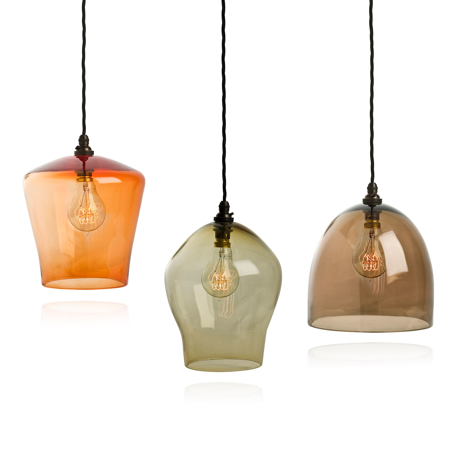 kitchen pendant lights images large island interior seagull lighting hand blown glass hanging