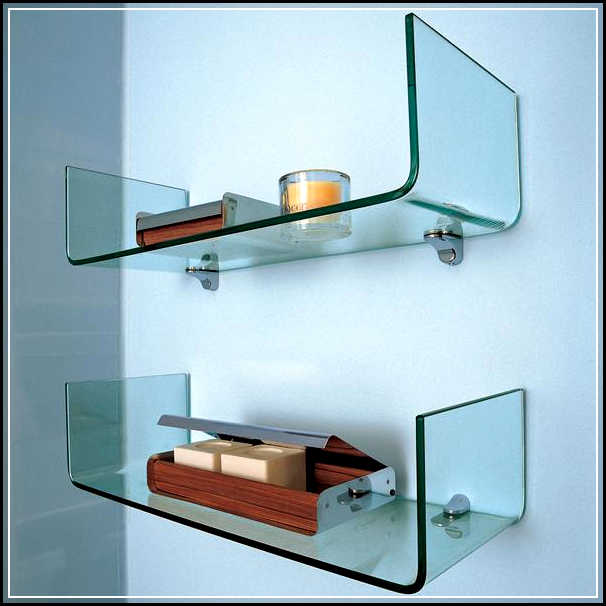The Right Spots To Mount The Gorgeous Glass Bathroom