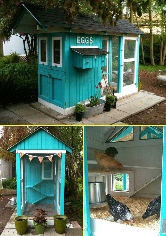 Cute Homemade Chicken Coop 22 Low-budget Diy Backyard Chicken Coop Plans