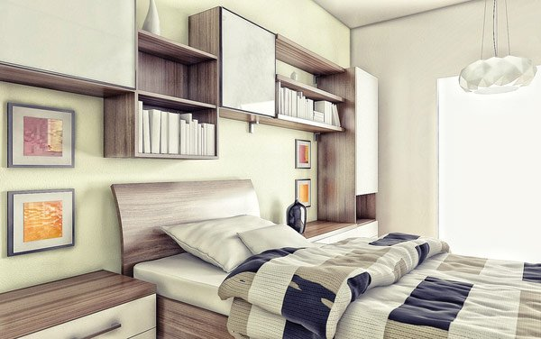 Minimally Designed Child's Bedroom