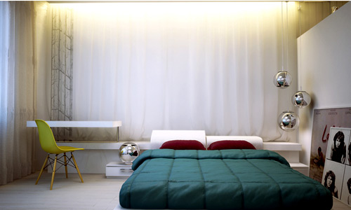 small bedroom spaces Big Ideas for Small Bedroom Spaces | Home Design Lover