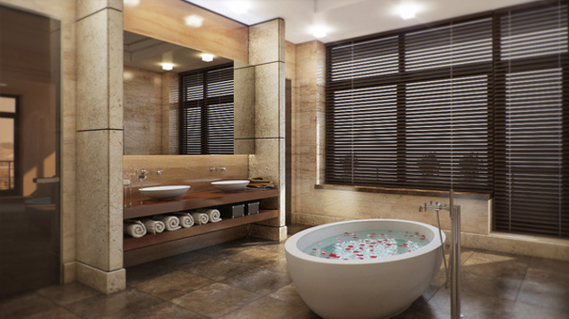 16 Refreshing Bathroom Designs