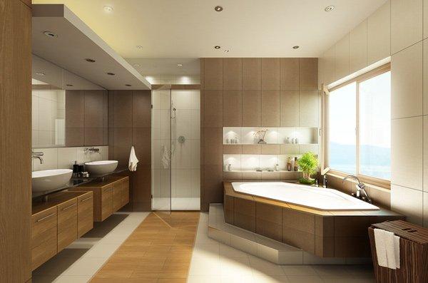 15 Stunning Modern Bathroom Designs