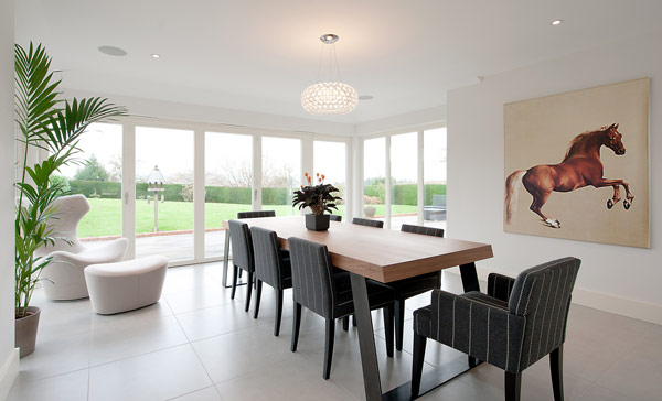 A Collection of 15 Accustomed Dining Room Designs  Home