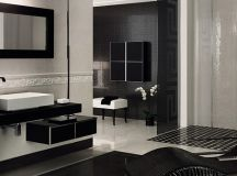 Elegant Vanity Sets and Bathrooms from Versace Home Tiles ...