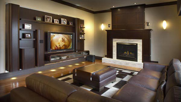 small living room ideas blue ceiling designs images 12 truly entertaining home theater | design lover