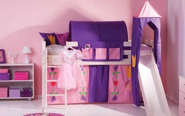 Kids Bedroom Furniture Space Saving Bunk Beds  Home