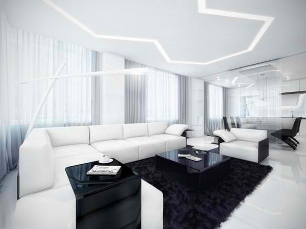 modern black and white living room ideas how decorate my 20 contemporary rooms home design lover