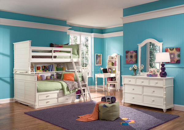 Kid S Bedroom Furniture Space Saving Bunk Beds Home