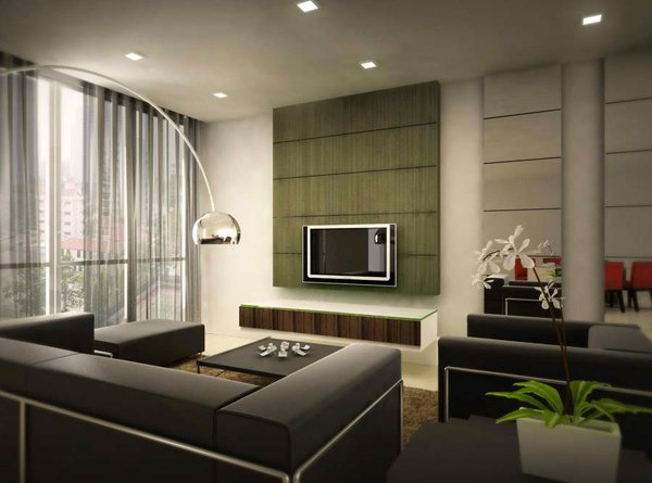 20 Modern Contemporary Black and White Living Rooms  Home