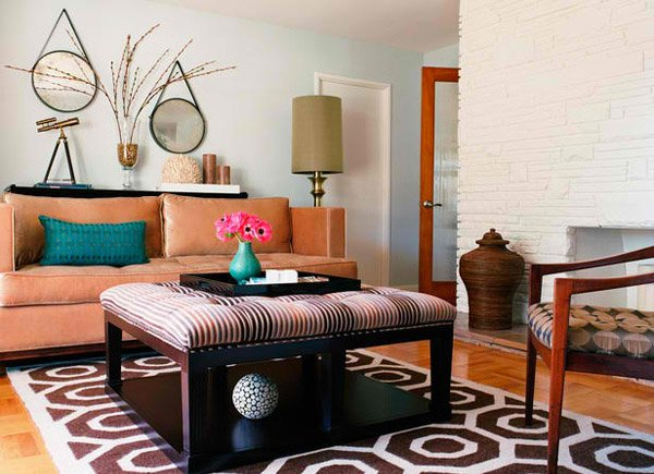 20 Incredibly Eclectic Living Room Designs  Home Design Lover