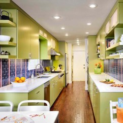 Mini Kitchen Island Wayfair Cabinets 15 Amazingly Homey Green Designs | Home Design Lover