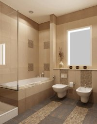 16 Beige and Cream Bathroom Design Ideas | Home Design Lover