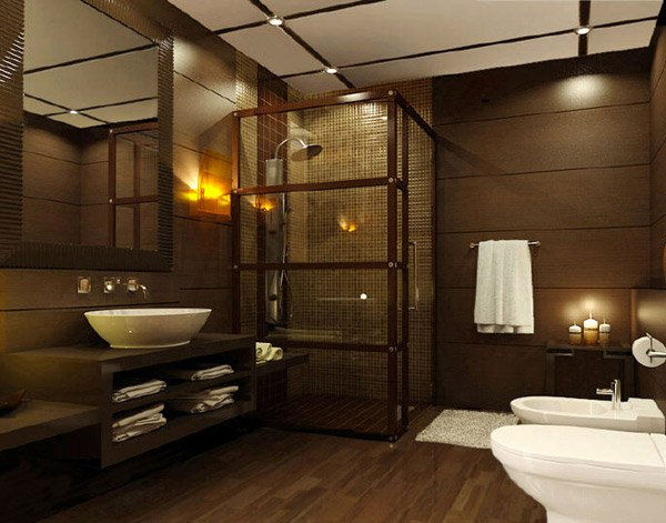 20 Beautifully Done Wooden Bathroom Designs
