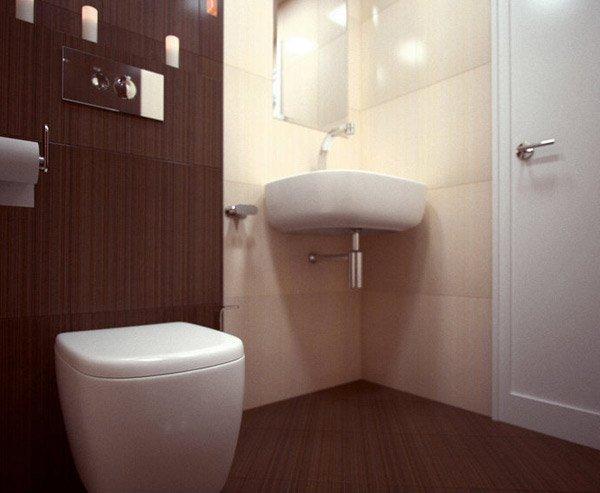 18 Sophisticated Brown Bathroom Ideas  Home Design Lover