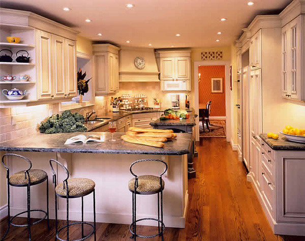 warm kitchen design 15 Lovely and Warm Country Styled Kitchen Ideas | Home Design Lover