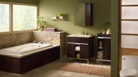 18 Relaxing and Fresh Green Bathroom Designs | Home Design ...