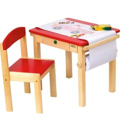 Kids Table And Chair Set Kmart Costco Lift 15 Art Tables Desks For Little Picassos | Home Design Lover