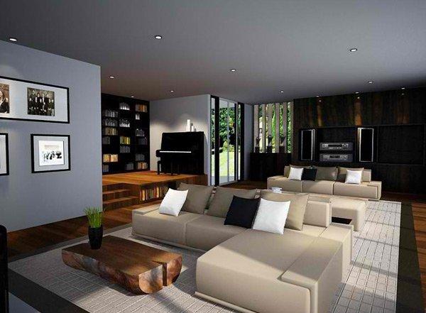 15 ZenInspired Living Room Design Ideas  Home Design Lover