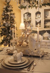 Christmas Table Setting Ideas Photograph