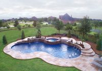 15 Remarkable Free Form Pool Designs | Home Design Lover