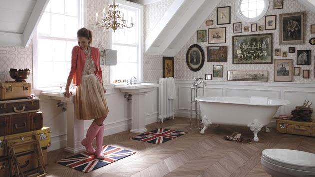 15 Stylish Eclectic Bathroom Design Ideas  Home Design Lover