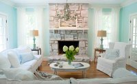 Shabby Chic Brick Fireplace | Modern Diy Art Designs