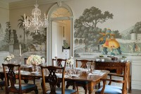 20 Conventional Dining Rooms with Wallpaper Murals | Home ...