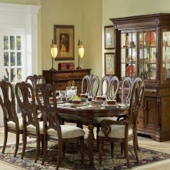 Cherry Dining Chairs Floor Chair With Back Support 20 Traditional Room Designs | Home Design Lover