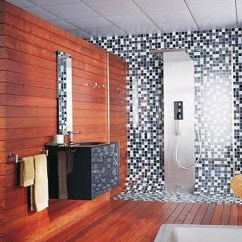 Tiles For Living Room Floor Small Designs Images 16 Unique Mosaic Tiled Bathrooms   Home Design Lover