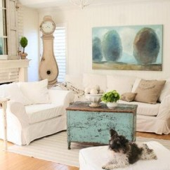 Shabby Chic Living Rooms Pictures Room Decoration In India Distressed Yet Pretty White Home Design Lover