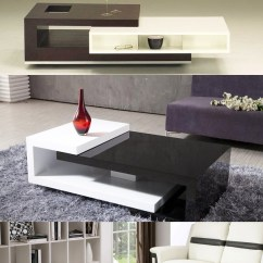 How To Make A Sofa Table Top Uratex Bed Double Size 15 Modern Center Tables Made From Wood | Home Design Lover