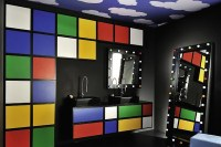 15 Lively Multi-Colored Bathroom Designs | Home Design Lover