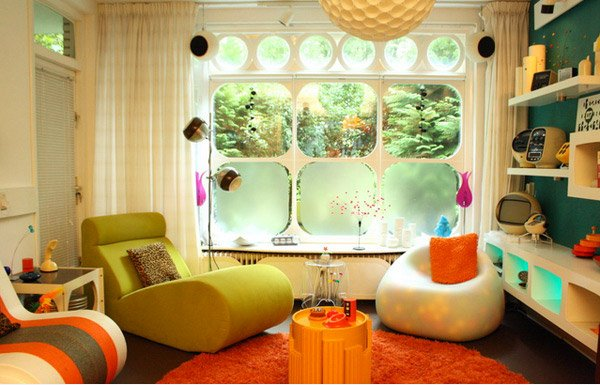 retro living room how to decorate walls with pictures 15 awesome inspired rooms home design lover