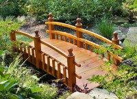 15 Whimsical Wooden Garden Bridges | Home Design Lover